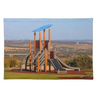 Children's playground placemat