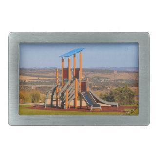 Children's playground rectangular belt buckle