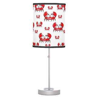 childrens red crab lamp