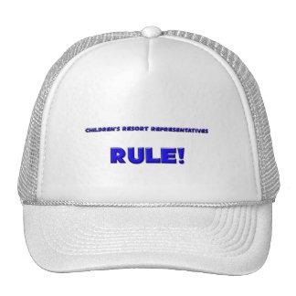 Children's Resort Representatives Rule! Hat