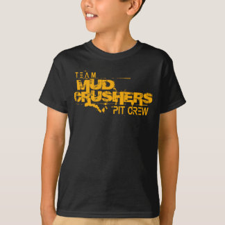 Children's Team Mud Crushers Pit Crew T-shirt