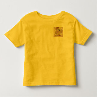 CHILDREN'S TEE SHIRT WITH BROWN TEDDY LOGO