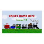 Children's Train Calling Card Pack Of Standard Business Cards
