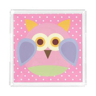 Children's Vanity Tray/Owl Perfume Tray