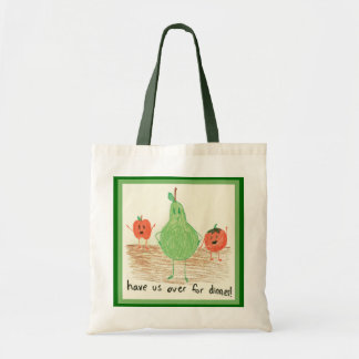 Child's Art, Green Budget Tote Bag