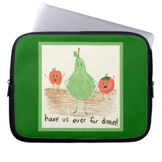 Child's Art, Green Computer Sleeves