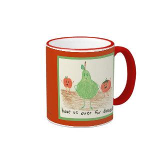Child's Art, Red Mug