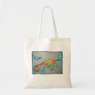 Child's art tote bag
