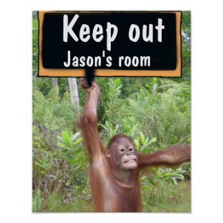 Child's Bedroom  Keep Out Privacy SIgn