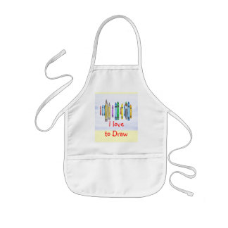 Child's Drawing Apron