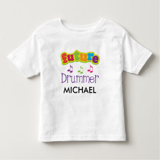 Childs Drummer Music Quote Future Musician T-shirt