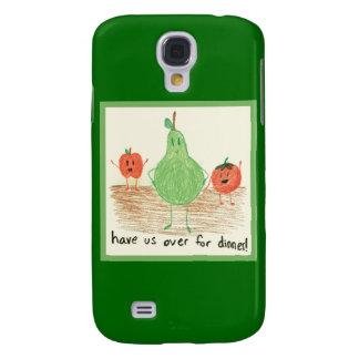 Child's Food Art, Green HTC Vivid Cases