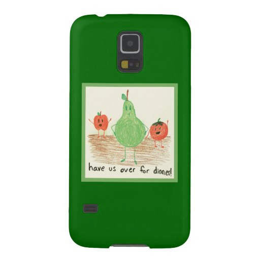 Child's Food Art, Green Galaxy Nexus Covers