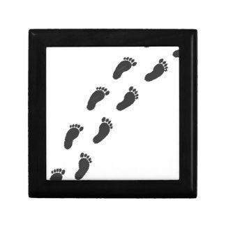 Childs Footprints Gift Box