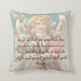 "Child's ""Guardian Angel"" Prayer Pillow"