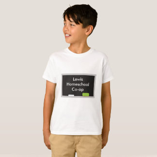 Child's Home school Co-Op Chalkboard T-Shirt