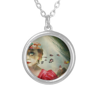 Child's Mind Silver Plated Necklace