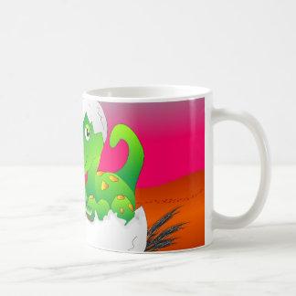 Child's Mug Hatching Dino - Bright Colors