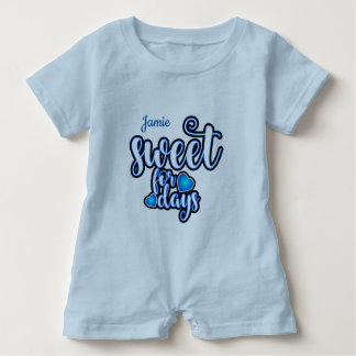 (Child's Name) Sweet For Days Baby Romper