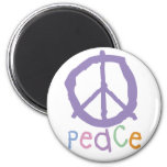 Child's Peace Sign Magnet