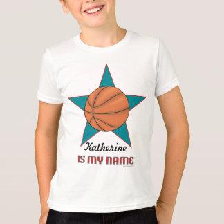 Child's Personalized Basketball T-shirt