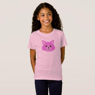 Child's Pink Cat T Shirt
