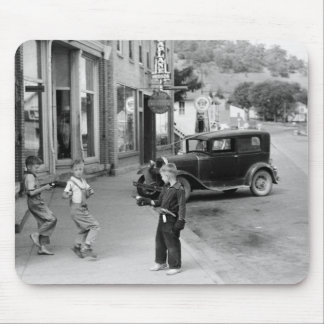 Child's Play in Wisconsin, 1930s Mousepad