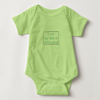 Child's Pose Baby Jumpsuit Baby Bodysuit