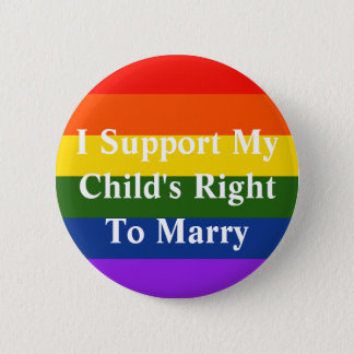 Child's Right to Marry 2 Inch Round Button