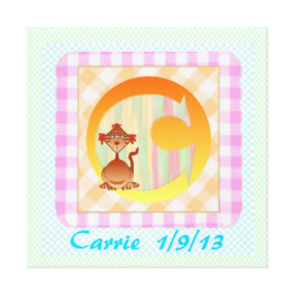 Child's Room print on canvas template Stretched Canvas Print