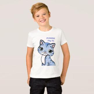 Child's Tee - Purrrr Blue Kitty