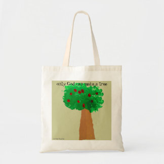 Child's Tree Drawing Tote Bag