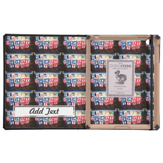 Childs Wooden Toy Blocks iPad Cover