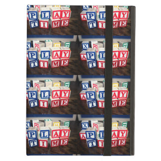 Childs Wooden Toy Blocks iPad Air Cover