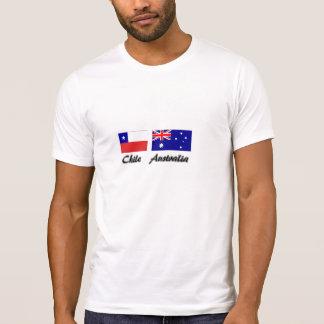 Chile Australia flag shirt