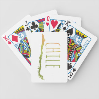 Chile Bicycle Playing Cards