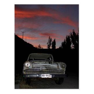 Chile Chico Sunset Postcard