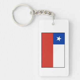 Chile – Chilean Flag Keychain