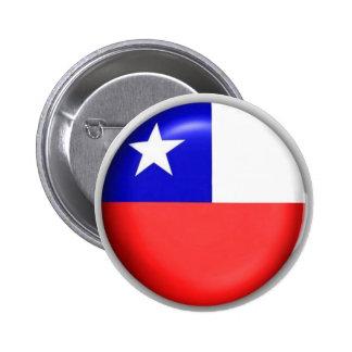 Chile Circulo 2 Inch Round Button