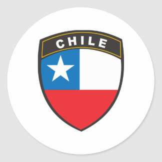 Chile Classic Round Sticker
