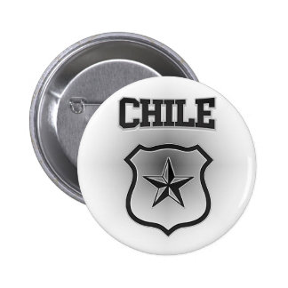 Chile  Coat of Arms 2 Inch Round Button