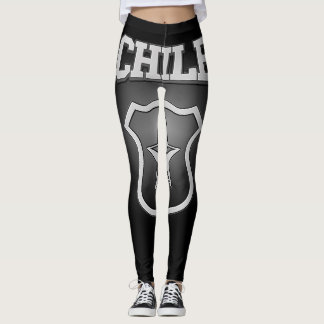 Chile Coat of Arms Leggings