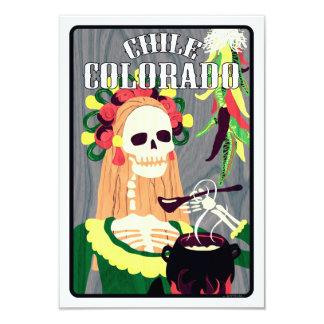 chile colorado (cool scheme) card