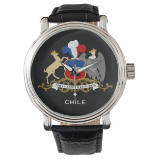 Chile* Custom Watch  Reloj personalizado de Chile