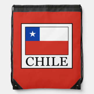 Chile Drawstring Bag