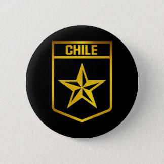 Chile Emblem 2 Inch Round Button