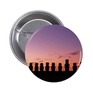 Chile Figures In The Sunset 2 Inch Round Button