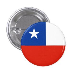 Chile Flag 1 Inch Round Button