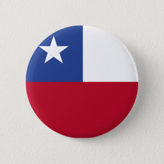 Chile flag 2 inch round button
