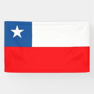 Chile Flag Banner